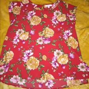 flowering blouse